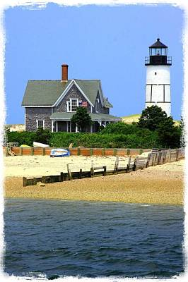 Sandy Neck Light Art Print