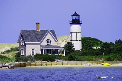 Photograph - Sandy Neck Lighthouse by Lorena Mahoney