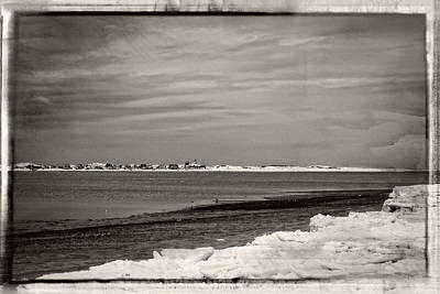 Photograph - Sandy Neck Winter 2015 by Frank Winters