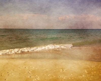 Photograph - Sandy Ocean Beach by TnBackroadsPhotos
