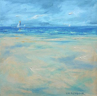 Cape Cod Painting - Sandy Point by Lisa H Ridabock