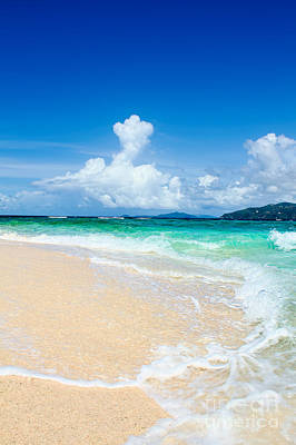 Photograph - Sandy Spit Bvi by Jared Shomo