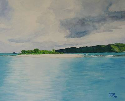 Van Dyke Painting - Sandy Spit Revisited by Connie Campbell Rosenthal