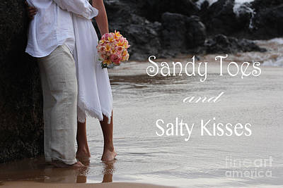 Photograph - Sandy Toes by Dani Abbott
