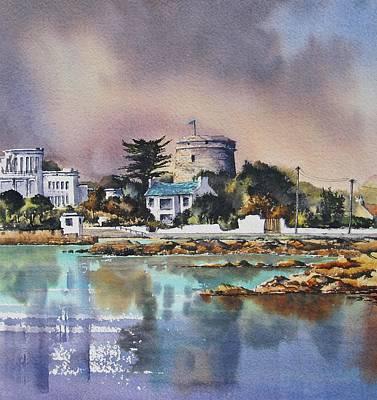 Sandycove Art Print by Roland Byrne