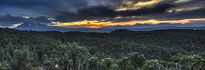 Photograph - Sangre De Cristo Mountains by Aaron Spong