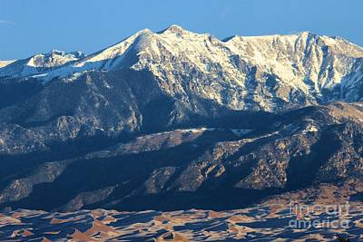 Photograph - Sangre De Cristo Mountains by Adam Jewell