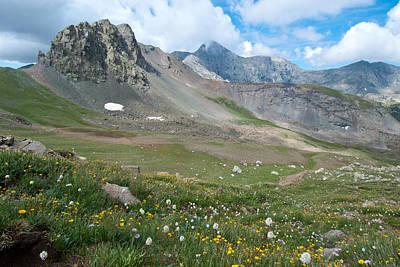 Photograph - Sangre De Cristos Meadow And Mountains by Cascade Colors