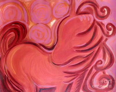 Painting - Sanguine Spirit by L Cecka