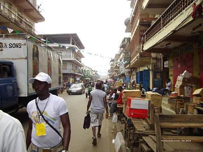 Sani Abacha Street- Year 2011 Art Print