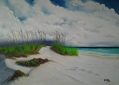 Painting - Sanibel Afternoon Storm by Maria Mills