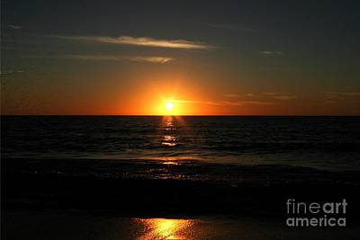 Sanibel At Sunset Art Print