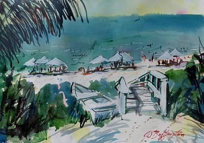 Sanibel Beach  Art Print