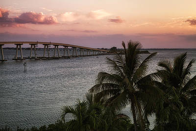 Southwest Florida Sunset Photograph - Sanibel Island Causeway by Kim Hojnacki