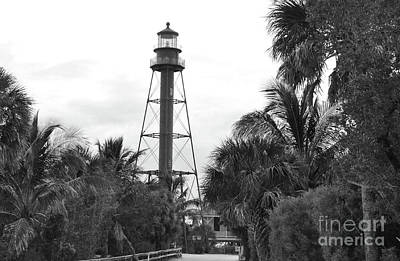 Photograph - Sanibel Island Lighthouse I by John Black