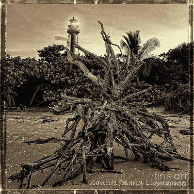 Photograph - Sanibel Island Lighthouse by Jeff Breiman