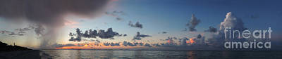 Photograph - Sanibel Island Sunrise Panorama by Jeff Breiman