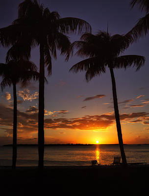 Sanibel Island Sunset Art Print by Kim Hojnacki