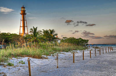 Photograph - Sanibel Lighthouse by Geraldine Alexander