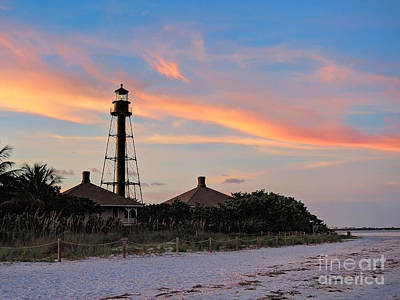Photograph - Sanibel Lighthouse by Jeff Breiman