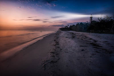 Photograph - Sanibel Lighthouse by Joshua Minso