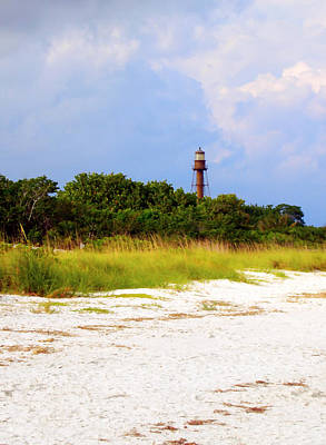 Digital Art - Sanibel Lighthouse by Kara  Stewart