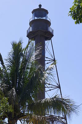 Photograph - Sanibel Lighthouse by Laurie Perry