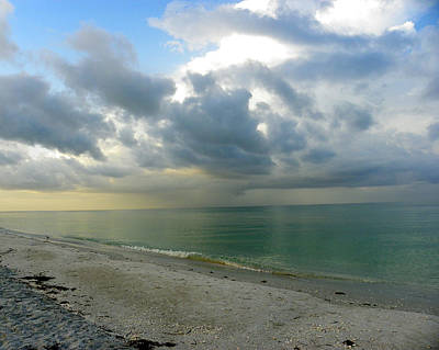 Photograph - Sanibel Storm by Judy Wanamaker