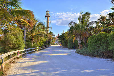 Photograph - Sanibel Street Light by Sean Allen