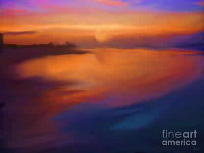 Sanibel Sunrise Art Print by Jeff Breiman