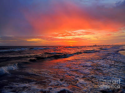 Photograph - Sanibel Sunset by Jeff Breiman