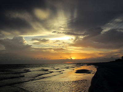 Photograph - Sanibel Sunset by Rosie Brown