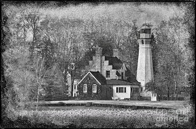 Photograph - Sanilac Lighthouse by David Arment