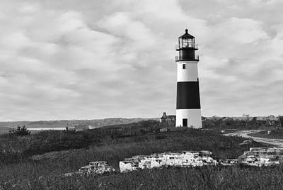 Photograph - Sankaty Head Lighthouse Nantucket Cape Cod by Marianne Campolongo