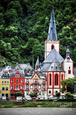 Sankt Goar On The Rhine Original by Ken Johnson