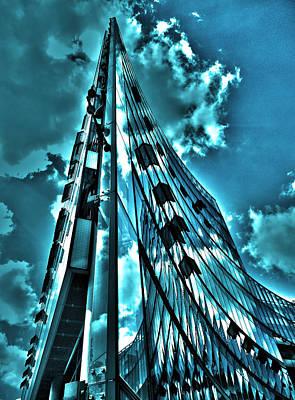 Wolken Photograph - Sanofi Aventis - Berlin by Juergen Weiss