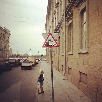 Wonder Woman Photograph - Street Crossing In Russia by Pamela Mildare