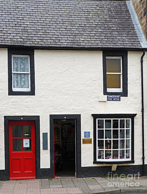 Photograph - Sanquhar Post Office - Scotland by Phil Banks