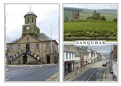 Photograph - Sanquhar Postcard by Phil Banks