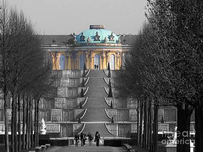 Photograph - Sans Souci Potsdam by Art Photography
