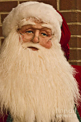 Photograph - Santa 1 by Walter Herrit