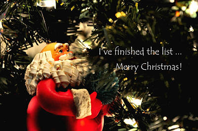 Jerry Sodorff Royalty-Free and Rights-Managed Images - Santa 30952 by Jerry Sodorff