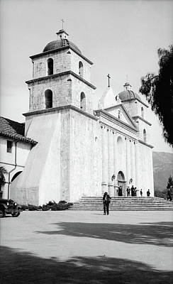 Art Print featuring the painting Santa Barbara, 1936 by Granger