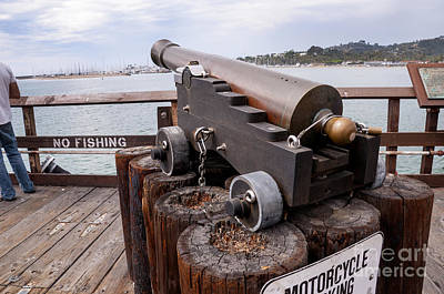 Photograph - Santa Barbara Cannon by Brenda Kean