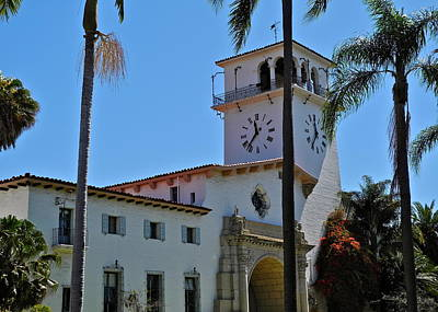 Photograph - Santa Barbara County Courthouse by Kirsten Giving