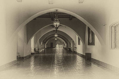 Photograph - Santa Barbara Courthouse by Roger Mullenhour