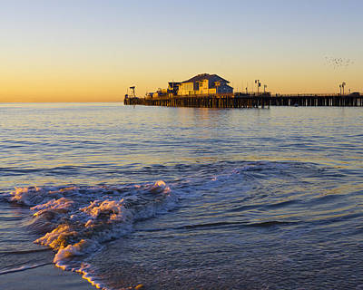 Pacific Ocean Photograph - Santa Barbara Dawn by Priya Ghose