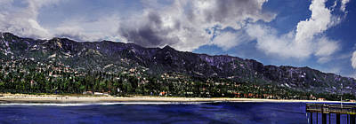 Santa Barbara Panorama Art Print
