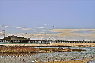 Photograph - Santa Barbara Pier by Joe  Burns