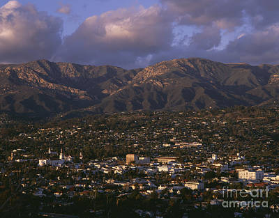 Photograph - Santa Barbara Santa Ynez Mountain Range by Jim Corwin